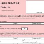 Formuláře MPSV - Formulář: Prohlášení o stanovené vyživovací povinnosti a jejím plnění, online i ke stažení. Připravte se, než vyrazíte na úřad práce.