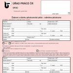 Formulář: Žádost o dávku pěstounské péče - odměna pěstouna 2017
