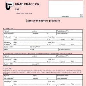 Formulář: Žádost o rodičovský příspěvek 2017
