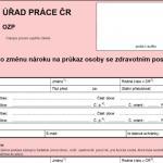 Formuláře MPSV - Formulář: Změna průkazu osoby se zdravotním postižením, online i ke stažení. Připravte se, než vyrazíte na úřad práce.